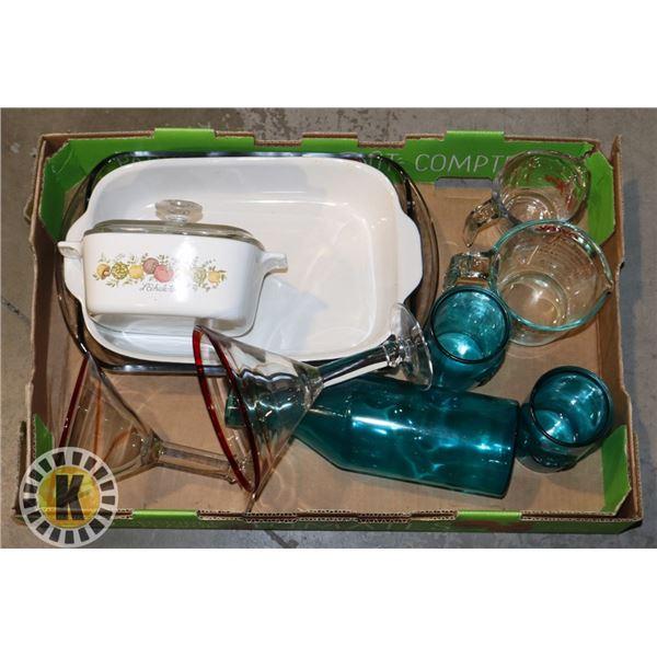 BOX OF KITCHEN HARDWARE