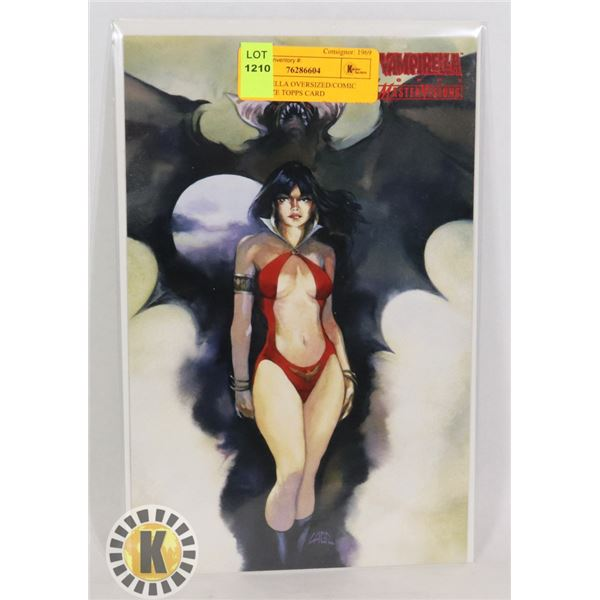 VAMPIRELLA OVERSIZED/COMIC BOOK SIZE TOPPS CARD