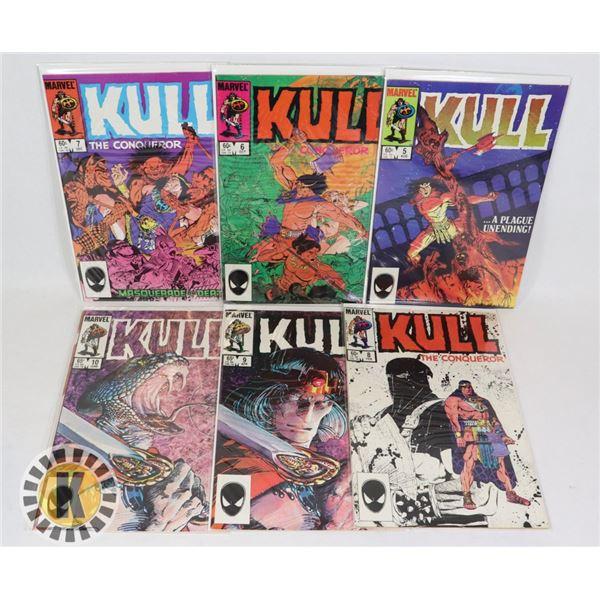 MARVEL COMICS KULL ISSUES #5-10
