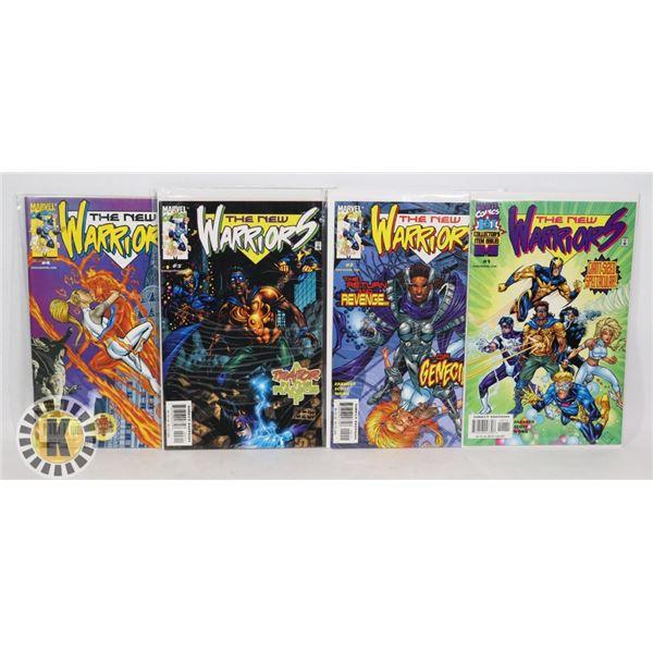 MARVEL COMICS THE NEW WARRIORS #1-4