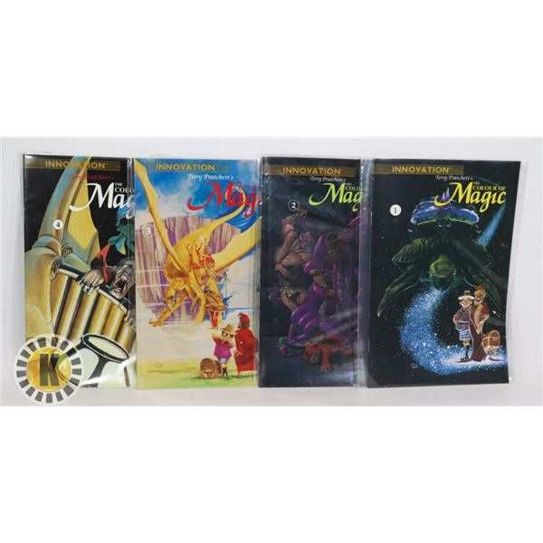 TERRY PRATTCHETTS THE COLOUR OF MAGIC #1-4