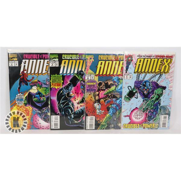 MARVEL COMICS ANNEX ISSUES  #1-4