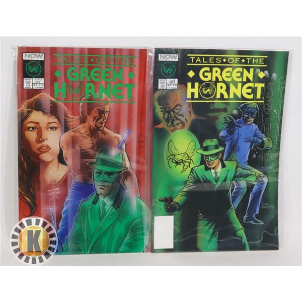 NOW COMICS TALES OF THE GREEN HORNET 1-2 OF 2