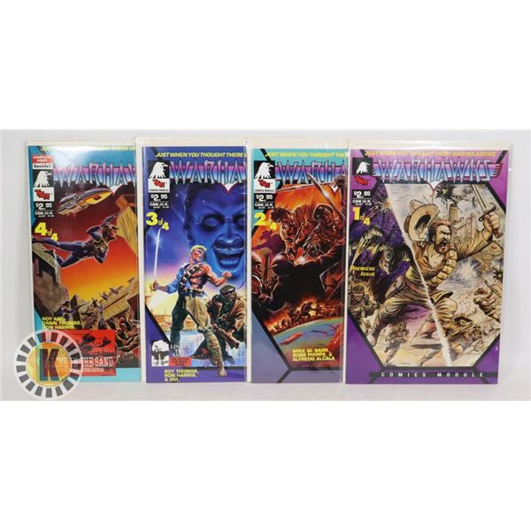 TSR COMICS WARHAWKS ISSUES #1-4