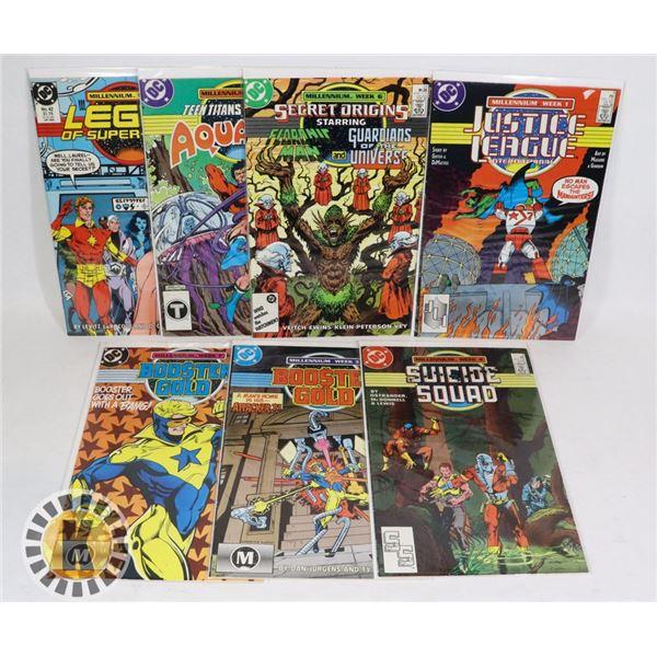 7 MILLENNIUM WEEK DC COMICS INCLUDING SUICIDE SQUAD