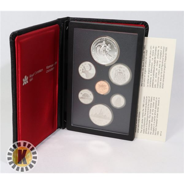 1983 CANADIAN DOUBLE DOLLAR PROOF COIN SET
