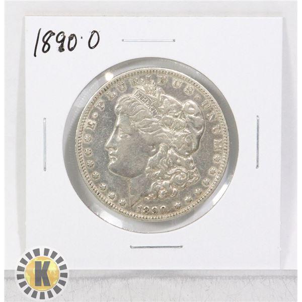 1890 O SILVER USA MORGAN $1 DOLLAR COIN