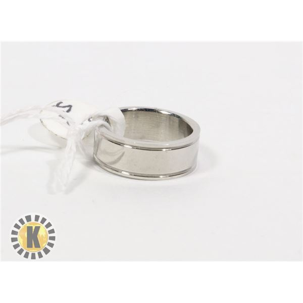 STAINLESS STEEL RING- NEW (80)