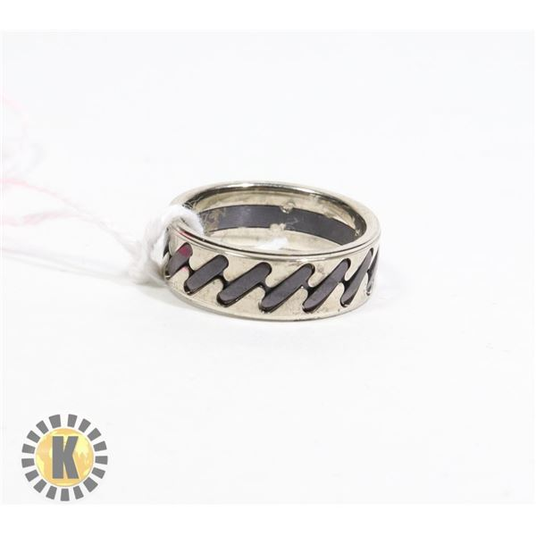 STAINLESS STEEL RING- NEW (65)
