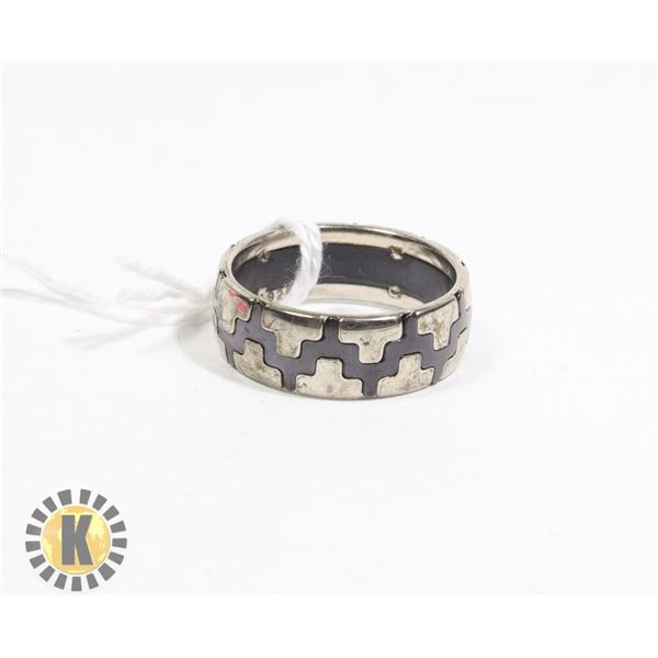 STAINLESS STEEL RING- NEW (66)