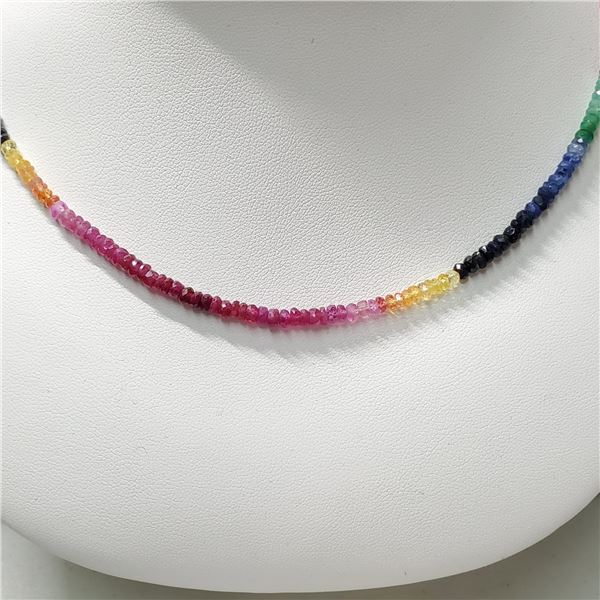 SILVER NATURAL BLUE, YELLOW SAP, RUBY, EMERALD