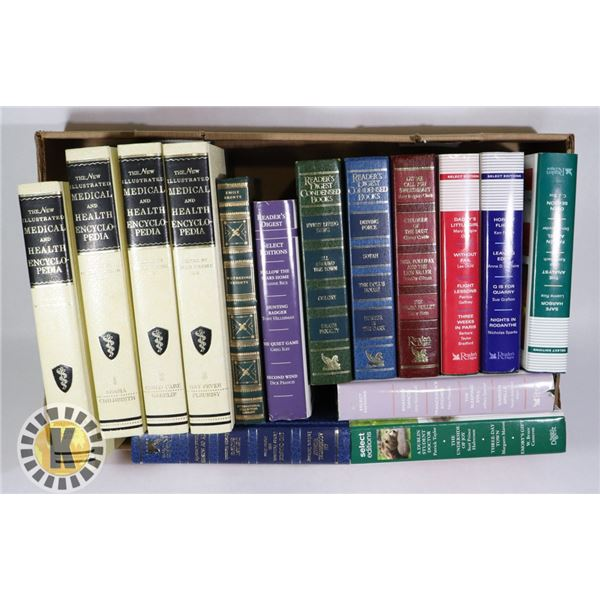 MEDICAL AND HEALTH ENCYCLOPEDIAS AND ASSORTED BOOKS
