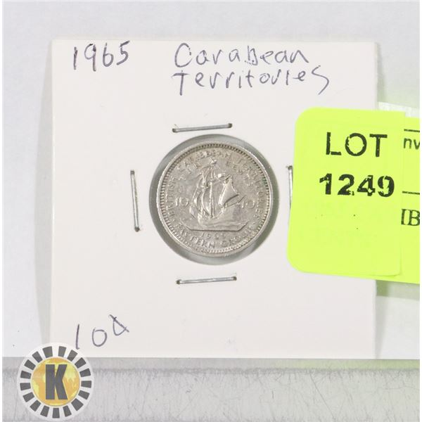 1965 CARIBBEAN TERRITORIES 10 CENTS