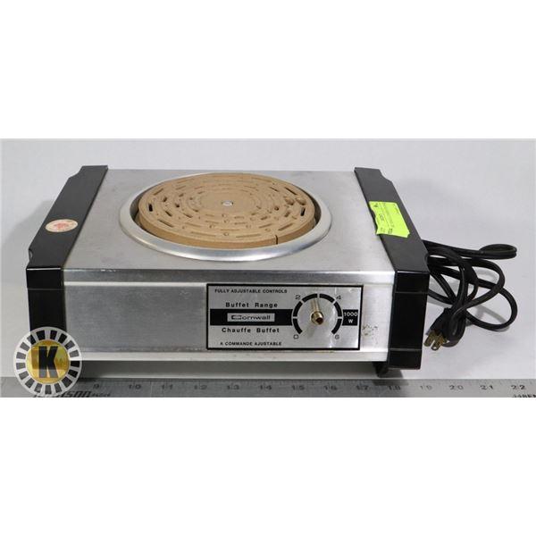 ELECTRIC SINGLE COOKING BURNER