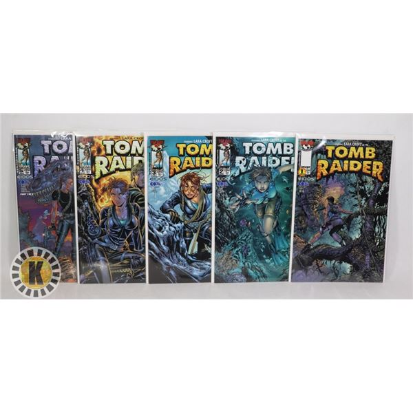 IMAGE COMICS TOMB RAIDER #1-5