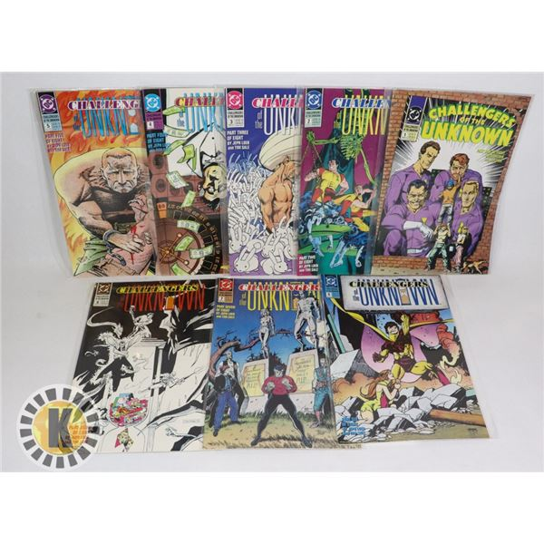 DC COMICS CHALLENGERS OF THE UNKNOWN #1-8