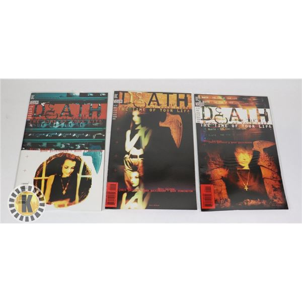 DC DEATH THE TIME OF YOUR LIFE FULL SET #1-3