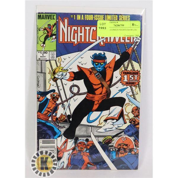 MARVEL COMICS NIGHTCRAWLER #1