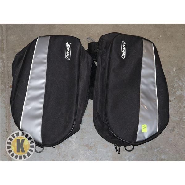 2 DUFFLE BAGS