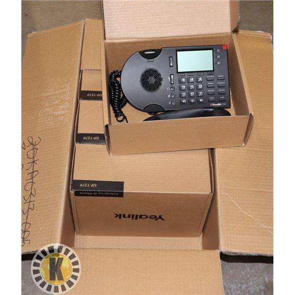 BOX OF ENTERPRISE OFFICE PHONES