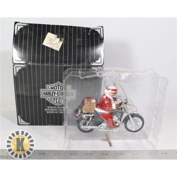HARLEY DAVIDSON MOTORCYCLE HOLIDAY ORNAMENT