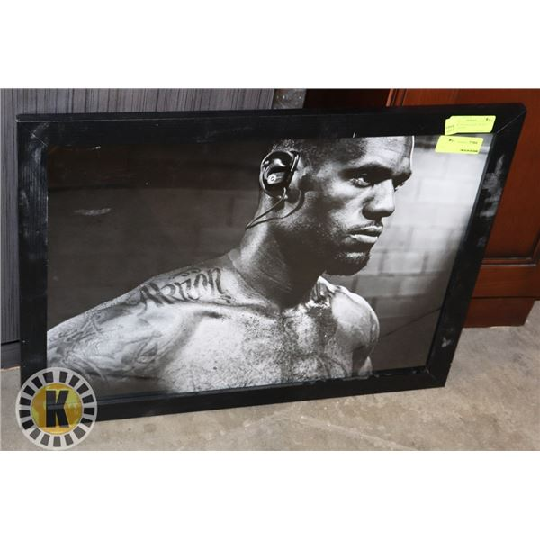 """PICTURE FRAME 26""""X20"""" INCHES BLACK FRAME"""