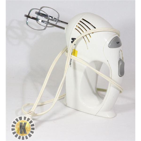 ELECTRIC MIXER WHITE