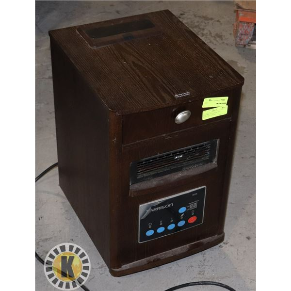 """ELECTRIC HEATER BROWN 13""""X16""""X21"""" LXWXH"""