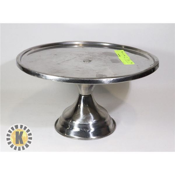 """PIZZA TRAY STAINLESS STEEL 12"""" INCH"""