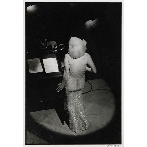 BILL RAY: MARILYN MONROE SINGING TO THE PRESIDENT 1962.