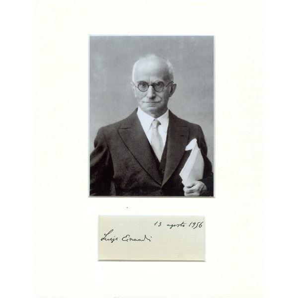LUIGI EINDUDI (1874-1961).