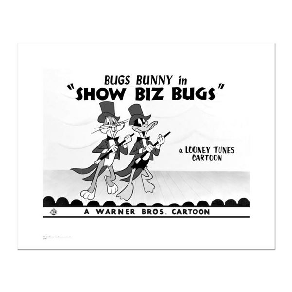 """Show Biz Bugs -Both Dancing"" Numbered Limited Edition Giclee from Warner Bros."