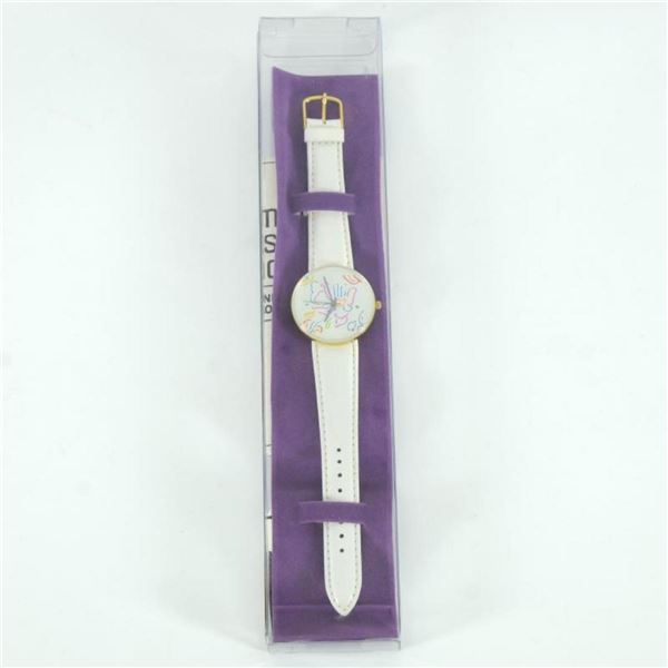 Vintage Peter Max Watch with Original Packaging and Paperwork.