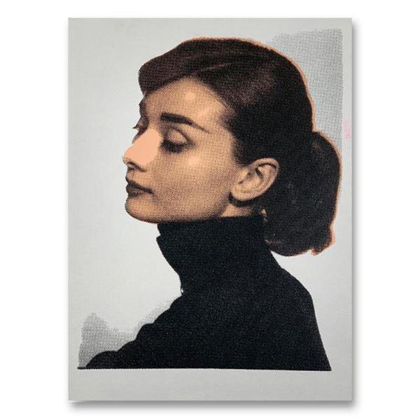 Audrey Hapburn by Steve Kaufman (1960-2010)