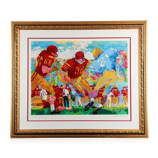 """USC vs. UCLA"" by LeRoy Neiman - Limited Edition Serigraph"