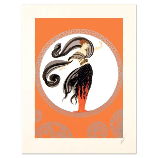 Flames of Love by Erte (1892-1990)