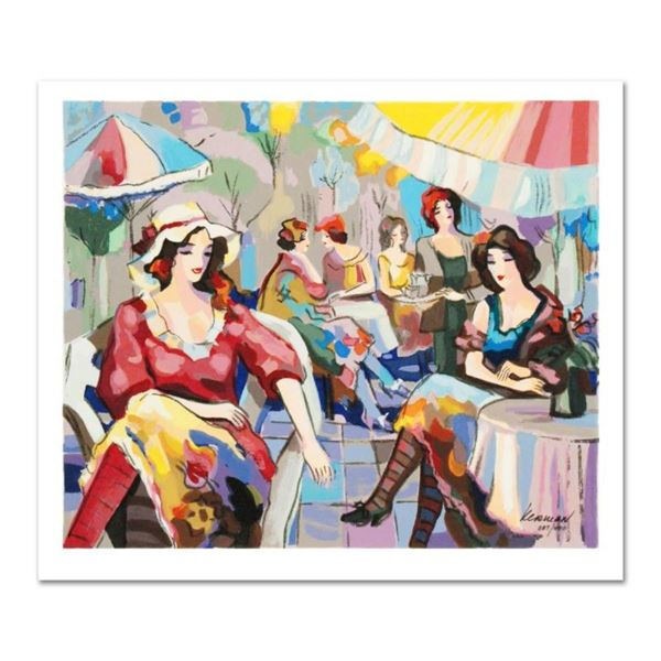 """Michael Kerman, """"Cafe"""" Limited Edition Serigraph, Numbered and Hand Signed with"""