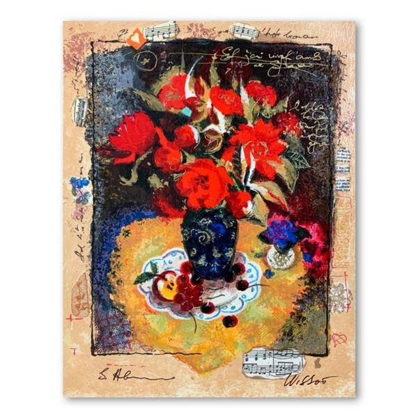 Alexander Galtchansky (1959-2008) and Tanya Wissotzky (1959-2006), Hand Signed L