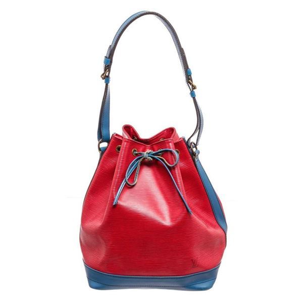 Louis Vuitton Red Monogram Noe GM Handbag
