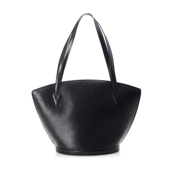 Louis Vuitton Black Monogram St. Jacques Shopping Tote Bag