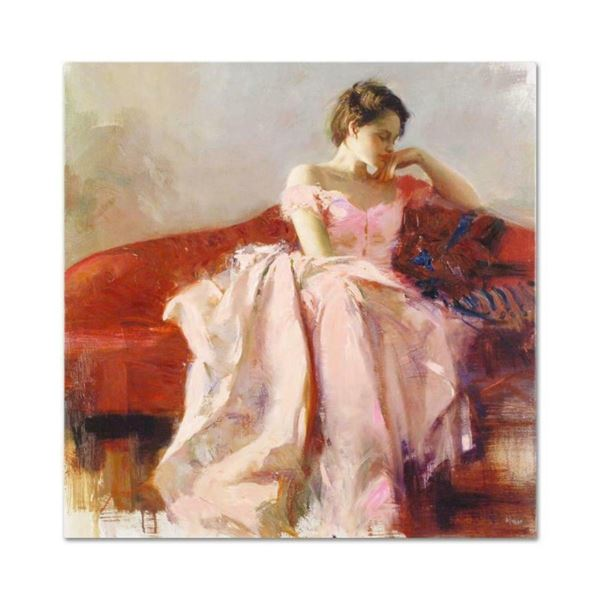 """Pino (1939-2010), """"Evening"""" Artist Embellished Limited Edition on Canvas, AP Num"""