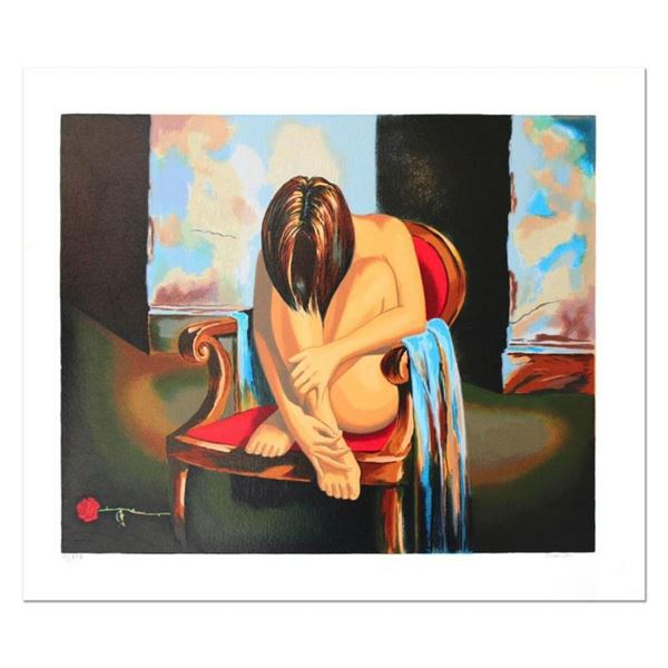 "Alexander Borewko, ""Sensual Moments"" Hand Signed Limited Edition Serigraph with"