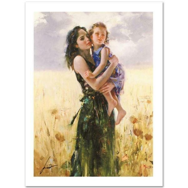 """Pino (1939-2010) """"Close to My Heart"""" Limited Edition Giclee. Numbered and Hand S"""