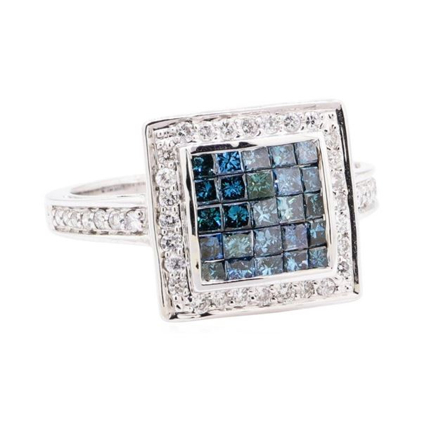 1.21 ctw Diamond Ring - 14KT White Gold