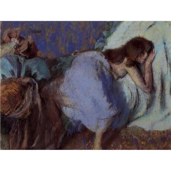 Edgar Degas - On The Bed