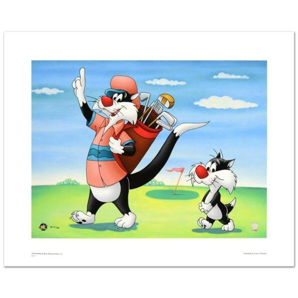 """""""#1 Golfer"""" Limited Edition Giclee from Warner Bros., Numbered with Hologram Sea"""