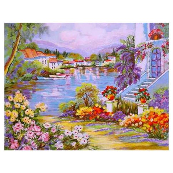 "Zina Roitman, ""River Side"" Hand Signed Limited Edition Serigraph with Letter of"