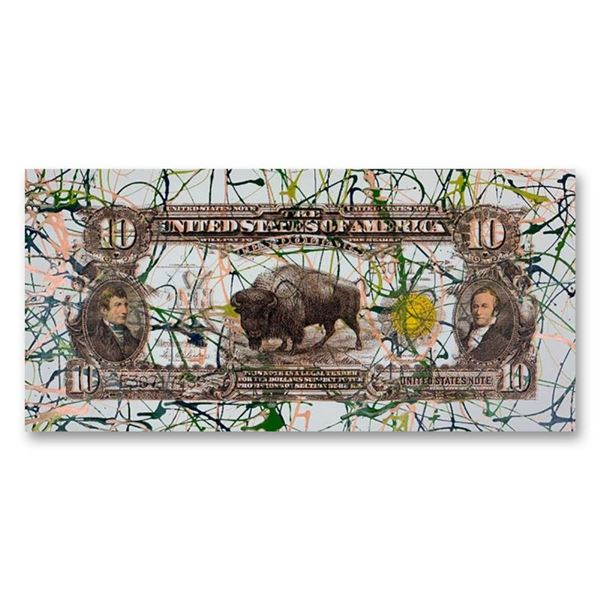 1901 Buffalo Bill ($10) by Steve Kaufman (1960-2010)