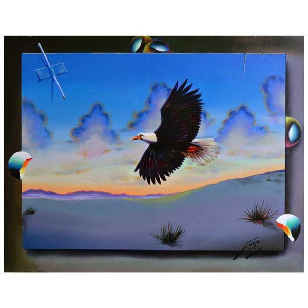 Eagle Soaring by Ferjo Original