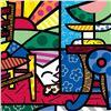 "Image 2 : Romero Britto ""New Squeaki Van Britto"" Hand Signed Giclee on Canvas; Authenticat"